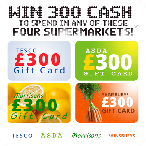 a Supermarket gift card
