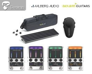 Aalberg Audio & Aclam Guitars Pedalboard