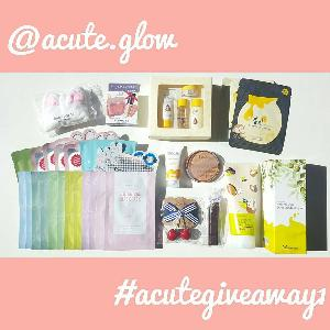 Acute Glow - Makeup and Skincare Products Instagram Giveaway!
