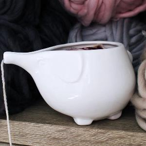 Adorable Elephant Yarn Bowl Giveaway