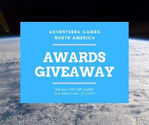 Adventerra Games North America Awards Giveaway