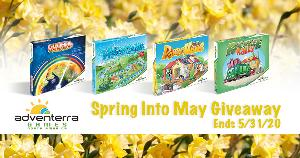Adventerra Games North America Spring into May 2020 Giveaway