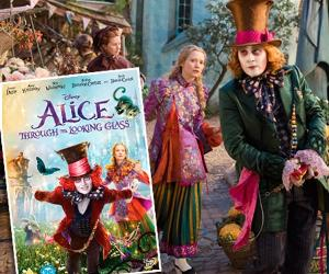 Alice Through The Looking Glass DVD Giveaway!
