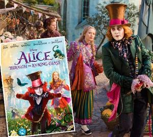 Alice Through The Looking Glass DVDGiveaway!