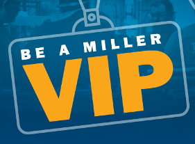 all-expenses-paid trip to Miller Headquarters in Appleton, Wisconsin