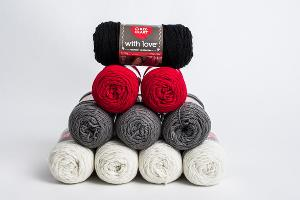 Amazing Red Heart With Love Yarn Bundle Giveaway