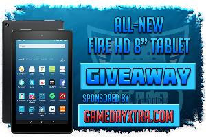 Amazon Fire Tablet 8 or $90 Amazon Gift Card