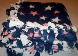 america fleece blanket