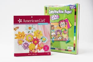 American Girl Crafts and Construction Paper