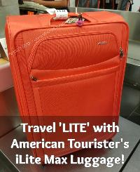 American Tourister iLite Max 21″ Suitcase Giveaway