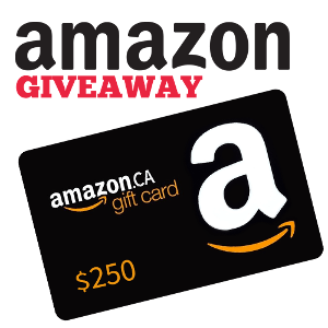 an Amazon gift card