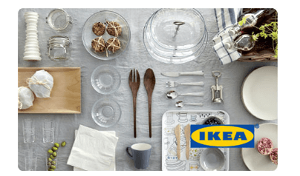 contest win an ikea gift card. Black Bedroom Furniture Sets. Home Design Ideas