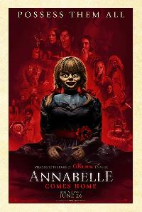 ANNABELLE COMES HOME MOVIE COVER