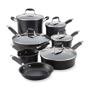 Anolon 12-Piece Advanced Onyx Cookware Set ($299.99)