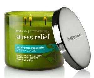 Aromatherapy Stress Relief 3-Wick Candle