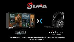 Astro A40 Headset (No Mixamp)- 1 winner & Final Fantasy 7 Remake Digital Deluxe Edition- 1 winner