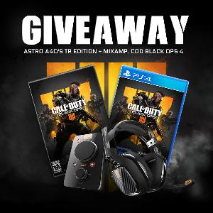 ASTRO A40 TR Edition Headset + Mixamp ;Call of Duty Black Ops 4