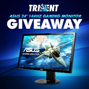 "ASUS 24"" 144Hz Gaming Monitor Giveaway"