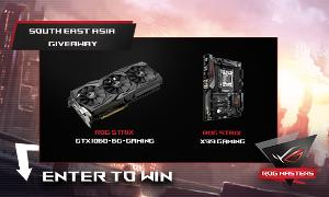 ASUS ROG Strix GTX 1060 and ASUS ROG Strix X99 Motherboard