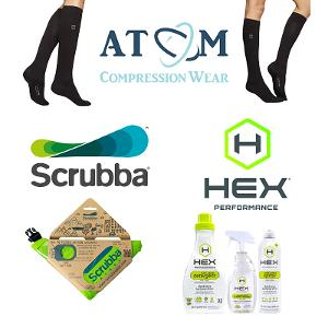 Atom Milk Fiber Compression Socks and High Quality Fabric Laundry Care Giveaway