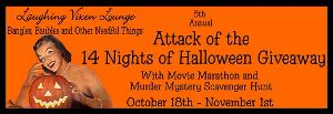 Attack of the 14 Nights of Halloween Giveaway