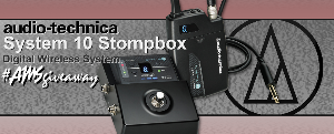 Audio-Technica System 10 Stompbox Giveaway