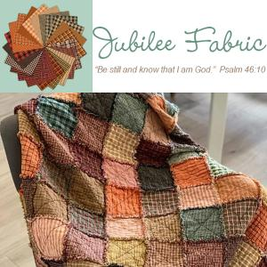 Autumn Spice Ragged Quilt Kit Giveaway
