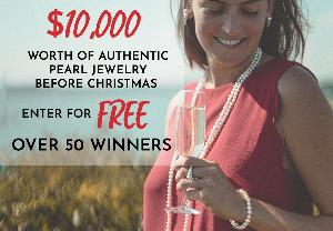 Avalon Pearls Holiday Giveaway