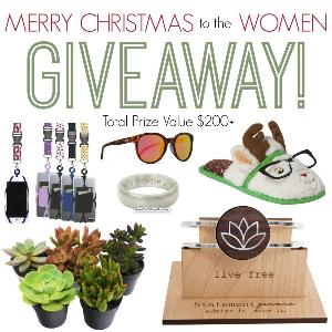 Awesome Christmas Prize Pack for Women