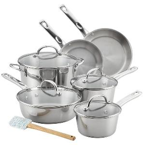 Ayesha Curry 11-Piece Stainless Steel Cookware Set ($149.99)!