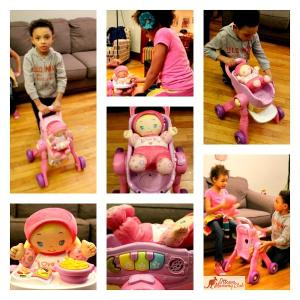 Baby Amaze 3-in-1 Care and Learn Stroller™ by VTech