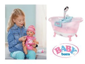 contest baby born interactive doll and bathtub. Black Bedroom Furniture Sets. Home Design Ideas