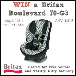 Baby Car Seat Giveaway