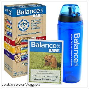 Balance Bar Father's Day Gift Set