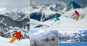 Banff & Lake Louise Ski Vacation ($2,676)