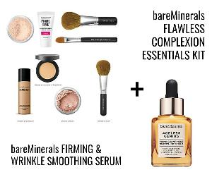 bareMinerals Flawless Complexion Essentials Kit and Firming&Wrinkle Smoothing Serum