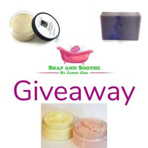 bath product giveaway