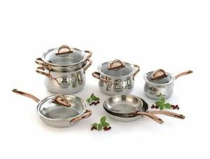 BergHOFF Ouro Gold 11Pc Stainless Steel Cookware Set Giveaway