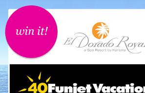 Bethennys' 7-Night Funjet Vacations Getaway to Mexico Sweepstakes