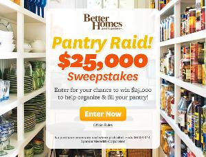 Better Homes' Sweepstakes | $25,000 Cash