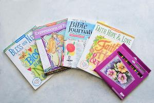 Bible Journaling and Faith Adult Coloring Books Giveaway