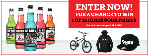 bike and jones soda