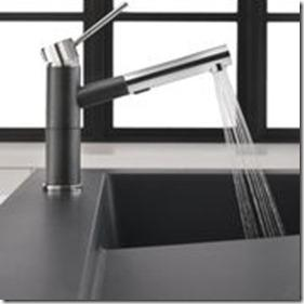 Blanco Alta Faucet in chrome and black