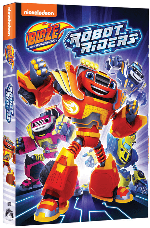 Blaze and the Monster Machines Robot Rider DVD