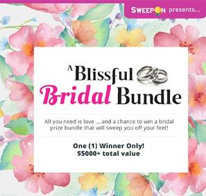 BLISSFUL BRIDAL BUNDLE PRIZE PACKAGE!!!