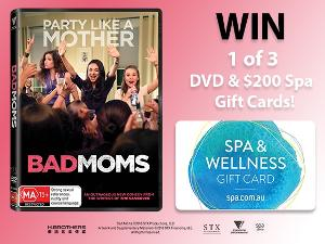 Blu-ray, DVD & Digital release of BAD MOMS Giveaway!