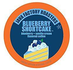 Blueberry Shortcake Flavored Coffee Giveaway!