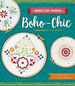Boho - Chic  Embroidery  Designs