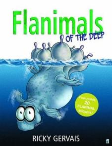 Book Giveaway – 'Flanimals Of The Deep' Signed By Ricky Gervais