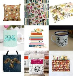 Bookish Surprise Gifts from Etsy and Books of Choice Giveaway